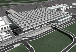 New parking terminal at Malaga airport