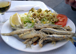 Pescaito Frito (fried fish)